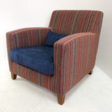 Danca fauteuil in Holywell Stripe van Orborne & Little